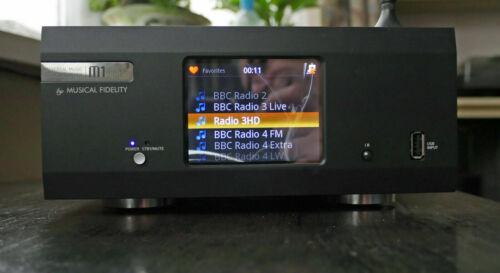 Musical Fidelity Audiophile bundle. M1 Clic 2x M1 Amplifiers.