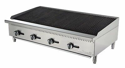 Migali C-cr48 48 Char Rock Broiler On Sale