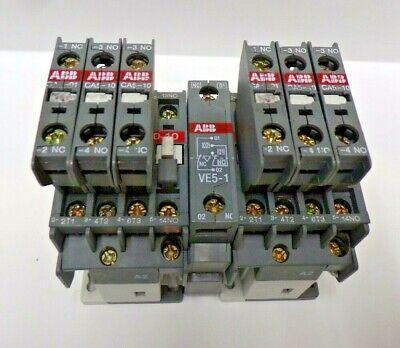 ABB NON-REVERSING CONTACTOR ,A9-30-10 , UI-1000V~ 26A ,EAC-1-25A,60947-4-1,VE5-1