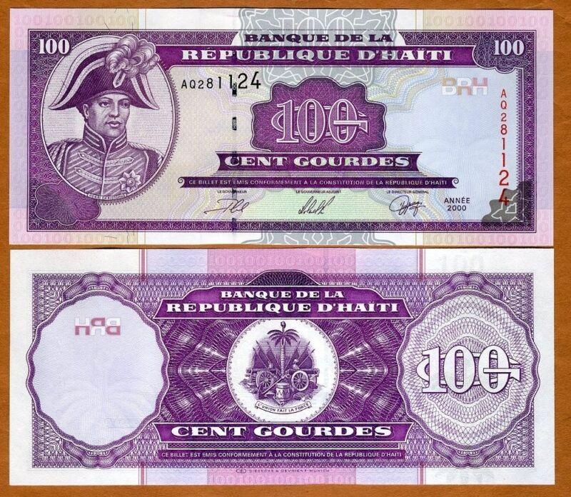 Haiti, 100 Gourdes, 2000, P-268, UNC