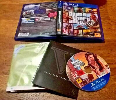 GTA V - Gran Theft Auto 5 VF + Carte [Complet] PS4 segunda mano  Embacar hacia Spain