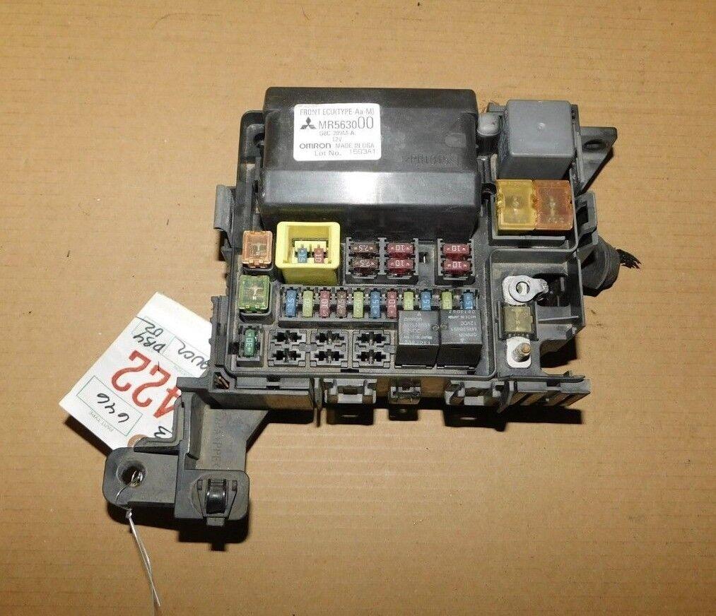 2004-2008 Mitsubishi Eclipse/Endeavor Fuse Box Panel OEM W/Warranty