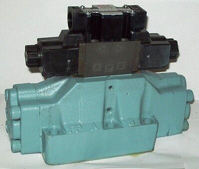 D08 4 Way Open Hydraulic Solenoid Valve Iw Vickers Dg5s-8-s-0c-wl-d 230 Vac