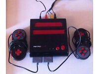 Dual retro NES / SNES including Super Mario 3 (NES) and Super Mario World (SNES)