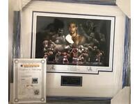 Genuine David Haye Signature Frame
