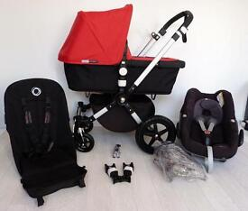⭐️⭐️CAMELEON 3 Bugaboo⭐️⭐️ complete package with Maxi Cosi Pebble