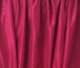 """Fuchsia 90"""" x 90"""" Blackout Curtains"""