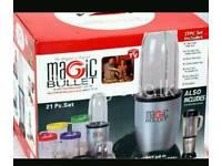 Brand new boxed 21pc magic bullet blender