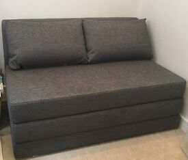 John Lewis Kip Grey Small Sofa Bed