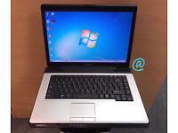Toshiba Fast Laptop, 3GB Ram, 160GB, Windows 7, Microsoft office, Very Good Condition