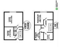DBC 2 double bedroom large split level maisonette