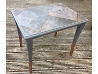 UPCYCLED RETRO VINTAGE INDUSTRIAL STYLE COFFEE TABLE/SIDE TABLE ONE OFF PIECE