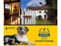 CHRISTMAS WEEK at dog friendly Norfolk holiday cottage It's also seal pupping season at local colony