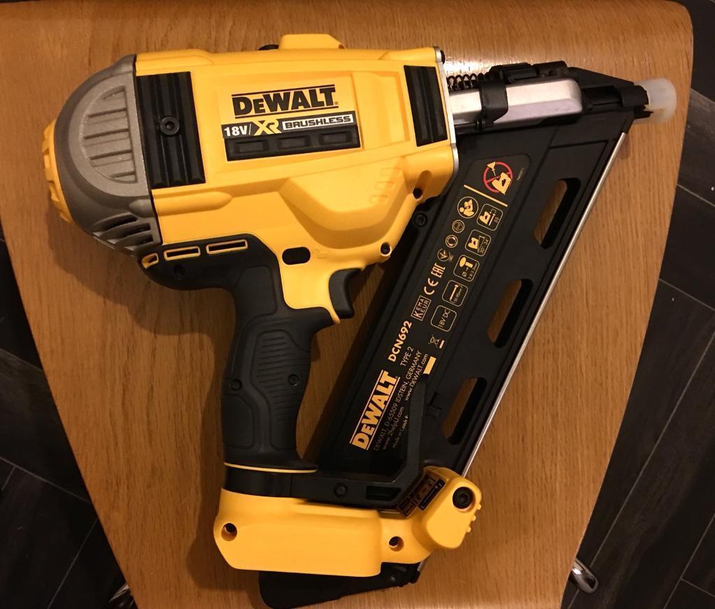 Dewalt DCN 692 XR 18v brushless cordless nail gun | in Bedford ...