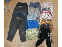 Bundle of Kids Clothes Denim Jeans Shorts Jogging Bottoms suit 4 - 5 Year Old Boy