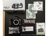 Canon 5D Mark 3 III Full Frame Professional Slr Camera Great Condition Boxed