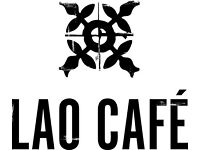 Kitchen Assistant- 12th December start New Opening Lao Cafe