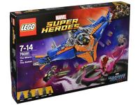 LEGO 76081 Marvel Super Heroes The Milano Vs The Abilisk Superhero Toy BRAND NEW SEALED