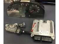 VW T5 Transporter ECU Lock Key Clocks