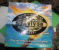 SURVIVOR outwit outplay board game