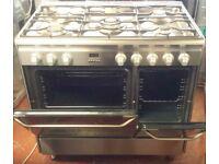 Jhon lewis 90cm dual fuel range cooker