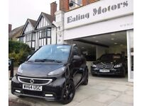 2014 SMART FORTWO GRANDSTYLE,CONVERTIBLE,AUTO,PETROL,ZERO TAX,LEATHER,SATNAV,LOW MILES,FULL HISTORY