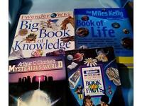 Kids references books x 4 £1