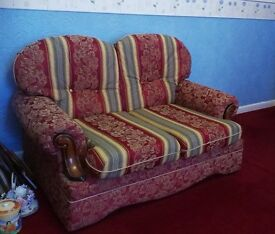 Regency style suite. Two two seaters and one chair. Free to pick up.