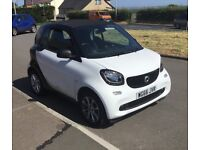 Smart Fortwo Coupe, 2016 (66) White Coupe, Manual Petrol, 4,700 miles 80mpg fast and nippy