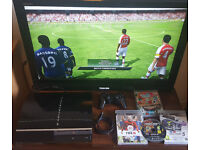 PS3, games, controller. Delivery options available. In perfect working condition.