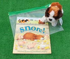 Book with Soft Toy Story Prop
