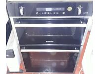 hotpoint luce electric built in intergrated double oven and grill