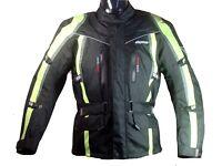 RK Sports 8080 Fluorecent Textile Waterproof Motorcycle Jacket - Was £149.99