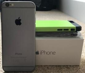 iPhone 6 16gb Space Grey + Extras