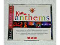 MUSIC 2 CD ALBUM SET KISS ANTHEMS 36 TRACKS VARIOUS ARTISTS 89-97 CLUB CLASSIC's