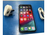 Apple iPhone X Silver iPhone 10 256GB Unlocked Mint Condition Apple Warranty Until Dec 2018
