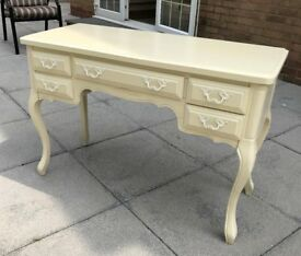 Ivory French Style Dressing Table