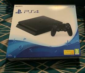 PlayStation 4 500GB **MINT CONDITION**