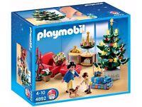Brand New in Box - Playmobil - Christmas Room