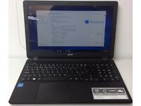"Acer ES1-571 15.6"" Notebook Intel Dual Core 4GB RAM 500GB HDD Windows 10"