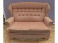 Stunning Light Brown 2 Seater Sofa/in Great Condition (Local delivery £5-£10)