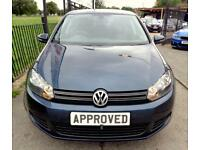 VOLKSWAGEN GOLF 1.6 MATCH TDI DSG 5d AUTO 103 BHP Apply for financ (blue) 2011