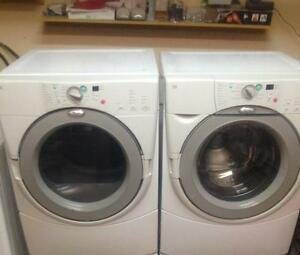 21- Whirlpool Duet Laveuse Sécheuse Frontale Frontload Washer Dryer