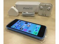 Boxed Blue Apple iPhone 5c 32GB Factory Unlocked Mobile Phone + Warranty