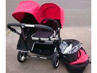 Bugaboo Donkey - 1 Carrycot 2 Seat Units