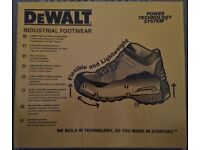 Dewalt – Safety work boots. Size UK 9/ EU 43.