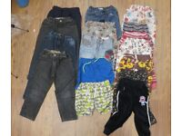 Boy Kids Bundle of Clothes - Bottoms Jeans Shorts - Suit 4 to 5 year old