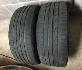 Bridgestone Potenza Runflat Tyres. 225 45 17.