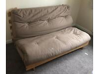 Double Futon Bed with Matress