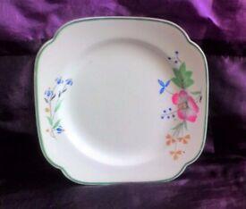 Art Deco Vintage Spodes Serving Plate